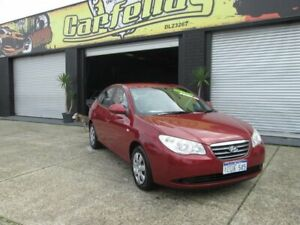 2007 Hyundai Elantra SLX Red 5 Speed Auto Active Select Sedan O'Connor Fremantle Area Preview