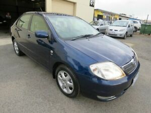 2002 Toyota Corolla ZZE122R Ultima Blue 4 Speed Automatic Sedan Werribee Wyndham Area Preview