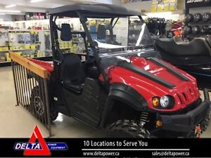 2016 Cub Cadet Challenger 500 Side by Side Utility