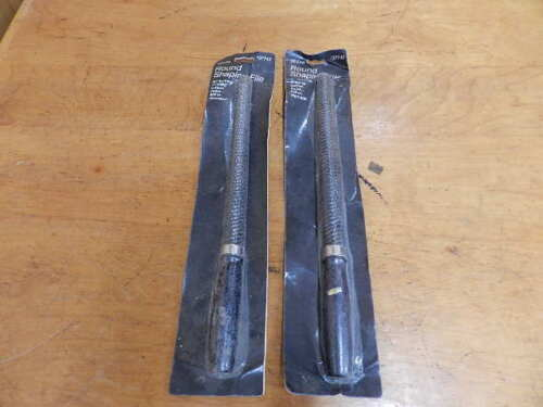 NEW OLD STOCK LOT OF 2 SEARS # 37743 ROUND SHAPING FILES SEALED