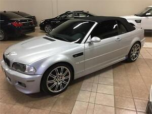 2002 BMW M3 CONVERTIBLE*SMG*PADDLE*SPORT*NO ACCIDENTS*141000KM