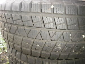 Winter Tires, Two, Close to new, 17 inch, 200 $,