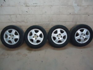 """15"""" Acura Rims and Tires 205/60 15"""