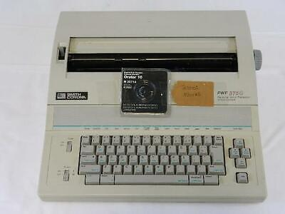 Smith Corona 5f-8 Pwp 3750 Personal Word Processor And Typewriter