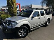 2013 Nissan Navara D40 S5 MY12 ST-X 550 Silver 7 Speed Sports Automatic Utility Seaford Frankston Area Preview