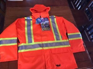 Men's size L High Visibility 3 in 1 Jacket