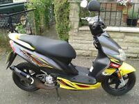 50cc Yamaha scooter
