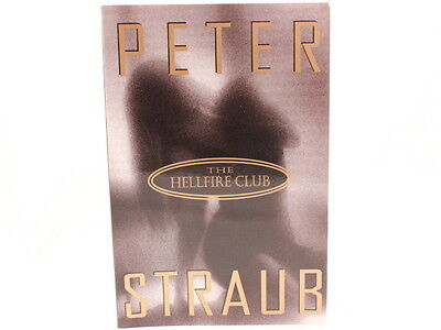 Like New  The Hellfire Club By Peter Straub 1996 Softcover Book
