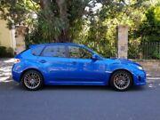 2011 Subaru Impreza G3 MY12 WRX AWD Blue 5 Speed Manual Hatchback Medindie Walkerville Area Preview