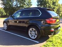 BMW X5 3.0 35d MSPORT, PANORAMIC GLASS ROOF, WIDE SATNAV, FSH, IMMACULATE CONDITION 89,000miles