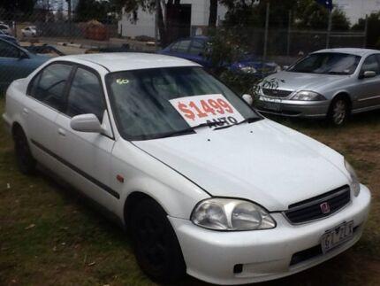 1995 Honda Civic EG GLi White 4 Speed Automatic Sedan Hastings Mornington Peninsula Preview