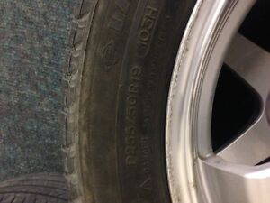 "19"" rims with rubber Michelin latitude m+s  Touring. Regina Regina Area image 4"