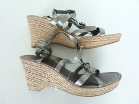 Brand new Marks and Spencer Ladies Platform Wedge Sandals Size 6.5