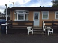 1 bedroom semi-deatched chalet bungalow for rent @Maryville Caravan site Uddingston £100 P/W