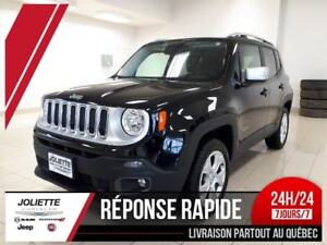 2017 Jeep Renegade Limited, 4X4, NAV, TOIT OUVRANT,