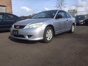 2005 Honda Civic Coupe Special Edition Comes Safety And E-Teste