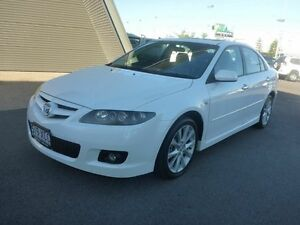 2007 Mazda 6 GG1032 Luxury Sports White 5 Speed Sports Automatic Hatchback Garbutt Townsville City Preview