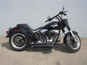 2010 Harley Davidson Fat Boy Lo  Black