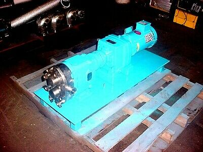 1.5 Inch Waukesha Stainless Steel Displacement Pump Model 032