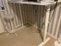 Desk sit/stand Ikea