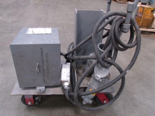 Square D  7.5 KVA  Cat # 7S1F - Portable on Cart