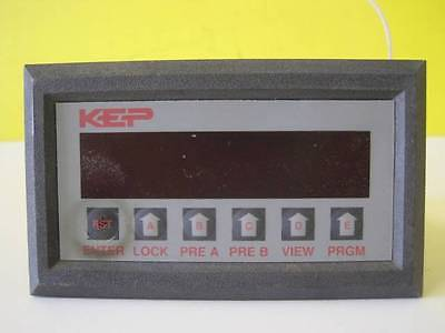 KEP Kessler-Ellis Products Electric DiCounter Model INT69TAL2 Used