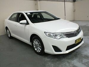 2013 Toyota Camry ASV50R Altise Diamond White 6 Speed Automatic Sedan Gateshead Lake Macquarie Area Preview