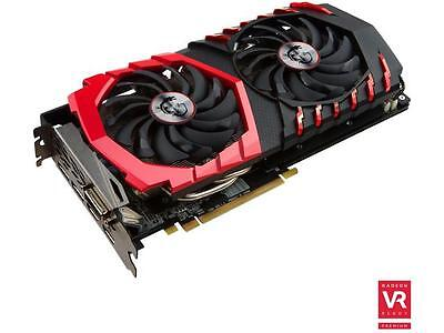 MSI Radeon RX 480 DirectX 12 RX 480 GAMING X 8G 8GB 256-Bit GDDR5 PCI Express 3.