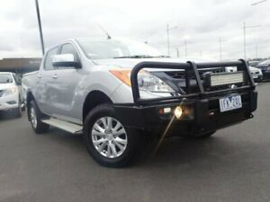 2014 Mazda BT-50 UP0YF1 GT Silver 6 Speed Sports Automatic Utility