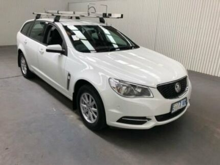 2014 Holden Commodore VF Evoke White 6 Speed Automatic Sportswagon Moonah Glenorchy Area Preview