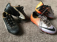2 x Boys football Boots Puma 12 & Nike 12.5 (£10 for both, or £7 each)