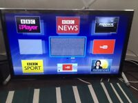 """Panasonic 37"""" Widescreen Full HD LED Smart 3D TV with WI-FI and builtin Free-view"""
