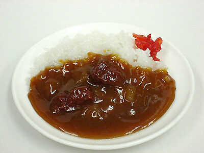 Japanese Fake Food Sample curry rice