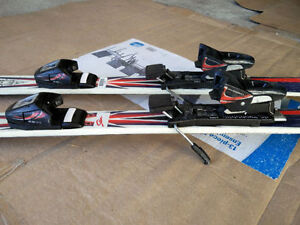 Triaxial Downhill Skis w/C509 Adjustable Bindings West Island Greater Montréal image 2