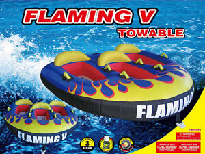 H2O Sporting Water Trampoline Water Ski Tube Towable Inflatable