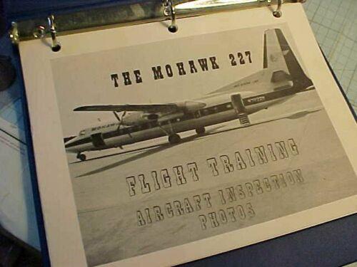 ORIGINAL VINTAGE MOHAWK 227 AIRCRAFT INSPECTION PHOTO MANUAL