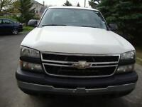 2007 chevrolet silverado 1500, pickup truck, 4X4, extended cab