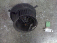 MOTEUR DE CHAUFFRETTE /FAN BLOWER RABBIT /JETTA MK5 2006/09