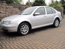VW Bora TDI Highline, Silver, 6 Speed Manual, Top Spec Inc Heated Leather. Well worth a view.