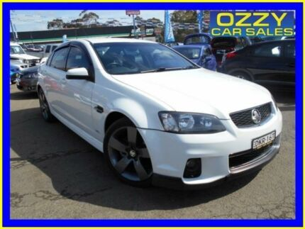 2012 Holden Commodore VE II MY12.5 SV6 Z-Series White 6 Speed Manual Sedan Penrith Penrith Area Preview