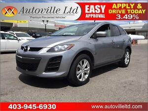 2011 Mazda CX-7 GS LEATHER HEATED EVERYONE APPROVED!!!