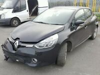 2014 RENAULT CLIO DYMANIQUE MEDIA-SATNAV 0.9L PETROL DAMAGED REPAIRABLE SALVAGE