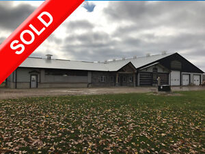 SOLD Prime Dairy Farm in Ingersoll.Jersey Herd, Storage+2 Homes! London Ontario image 1