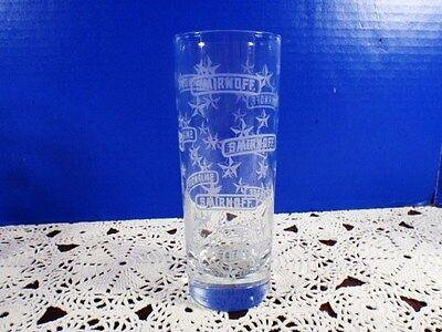 Set of 12 Smirnoff Vodka Barware Tall Glasses Tumblers