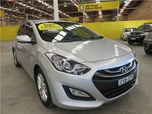 2014 Hyundai i30 GD2 MY14 Trophy Sleek Silver 6 Speed Sports Automatic Hatchback Cardiff Lake Macquarie Area Preview