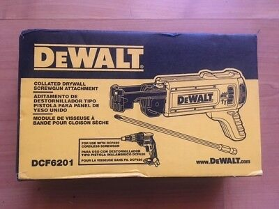 Brand New DCF6201 Dewalt Collated Drywall Screwgun Attachment