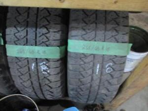 265/65R18 SET OF 4 MATCHING USED  GOODYEAR A/S TIRE