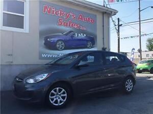 2012 Hyundai Accent GL, HATCHBACK, AUTO, P.GROUP, ACCIDENT FREE!