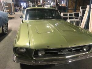 1967 A-CODE FASTBACK