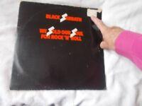 Vinyl LP We Sold Our Soul For Rock 'N' Roll Black Sabbath Nems NELD 101